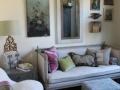 P4)frenchshabbychicstylesittingroom;reproductiondaybed;custompillows;slipcoverloveseat