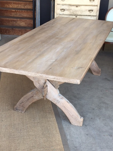Antique Belgian Dining Table 4650