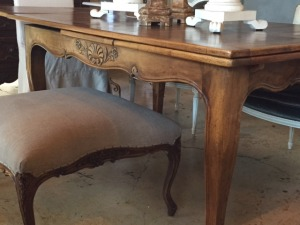 Antique french dining table - $2200
