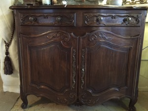Antique Walnut Server - SOLD