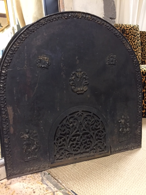Antique French Fire Back…$450 - Vintage & Antique Furniture And Interior Design Accessories Portland